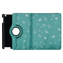 Sweetie Soft Teal Apple iPad 3/4 Flip 360 Case by MoreColorsinLife