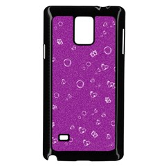 Sweetie,purple Samsung Galaxy Note 4 Case (black) by MoreColorsinLife