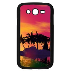 Wonderful Sunset Over The Island Samsung Galaxy Grand Duos I9082 Case (black) by FantasyWorld7