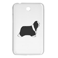 Bearded Collie color silhouette Samsung Galaxy Tab 3 (7 ) P3200 Hardshell Case