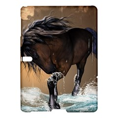 Beautiful Horse With Water Splash Samsung Galaxy Tab S (10 5 ) Hardshell Case  by FantasyWorld7