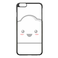 Kawaii Cloud Apple Iphone 6 Plus/6s Plus Black Enamel Case by KawaiiKawaii