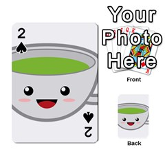 Kawaii Cup Playing Cards 54 Designs