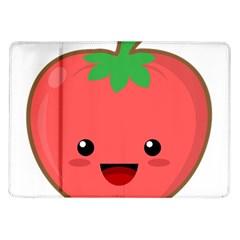Kawaii Tomato Samsung Galaxy Tab 10 1  P7500 Flip Case by KawaiiKawaii