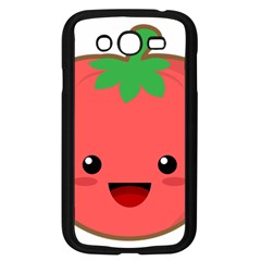 Kawaii Tomato Samsung Galaxy Grand Duos I9082 Case (black) by KawaiiKawaii