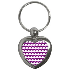 Tree Illustration Gifts Key Chains (heart)  by creativemom