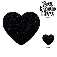 Crystal Bling Strass G283 Multi Purpose Cards (heart)  by MedusArt