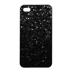 Crystal Bling Strass G283 Apple Iphone 4/4s Seamless Case (black) by MedusArt