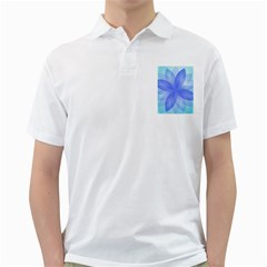 Abstract Lotus Flower 1 Golf Shirts by MedusArt