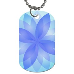 Abstract Lotus Flower 1 Dog Tag (two Sides) by MedusArt