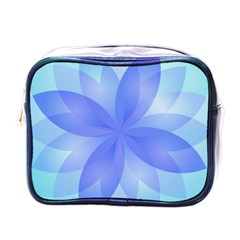 Abstract Lotus Flower 1 Mini Toiletries Bags by MedusArt