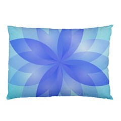 Abstract Lotus Flower 1 Pillow Cases (two Sides) by MedusArt