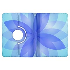 Abstract Lotus Flower 1 Kindle Fire Hdx Flip 360 Case by MedusArt