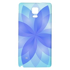 Abstract Lotus Flower 1 Galaxy Note 4 Back Case by MedusArt