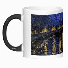 Vincent Van Gogh Starry Night Over The Rhone Morph Mugs by MasterpiecesOfArt