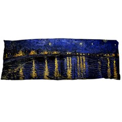 Vincent Van Gogh Starry Night Over The Rhone Body Pillow Cases Dakimakura (two Sides)  by MasterpiecesOfArt