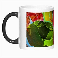 Floral Abstract 1 Morph Mugs by MedusArt