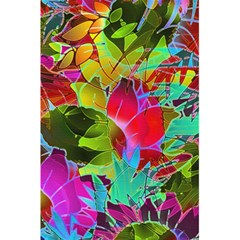Floral Abstract 1 5 5  X 8 5  Notebooks by MedusArt