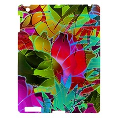 Floral Abstract 1 Apple Ipad 3/4 Hardshell Case by MedusArt