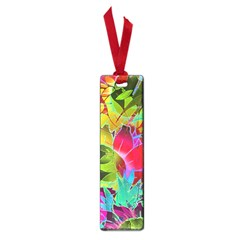 Floral Abstract 1 Small Book Marks by MedusArt