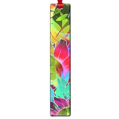 Floral Abstract 1 Large Book Marks by MedusArt