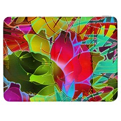 Floral Abstract 1 Samsung Galaxy Tab 7  P1000 Flip Case by MedusArt