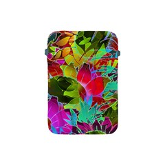 Floral Abstract 1 Apple Ipad Mini Protective Soft Cases by MedusArt