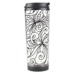 Drawing Floral Doodle 1 Travel Tumblers by MedusArt