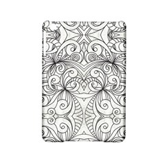 Drawing Floral Doodle 1 Ipad Mini 2 Hardshell Cases by MedusArt