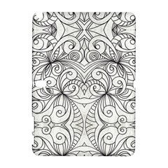 Drawing Floral Doodle 1 Samsung Galaxy Note 10 1 (p600) Hardshell Case by MedusArt