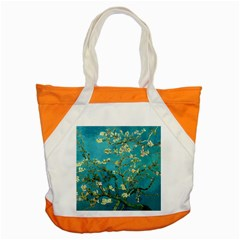 Blossoming Almond Tree Accent Tote Bag  by MasterpiecesOfArt