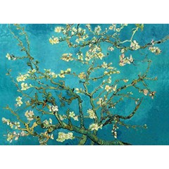 Blossoming Almond Tree Birthday Cake 3d Greeting Card (7x5)