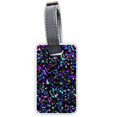 Glitter 1 Luggage Tags (one Side)  by MedusArt