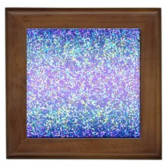 Glitter 2 Framed Tiles by MedusArt