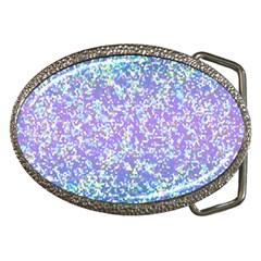 Glitter 2 Belt Buckles by MedusArt