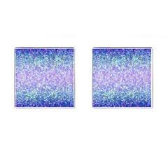 Glitter 2 Cufflinks (square) by MedusArt