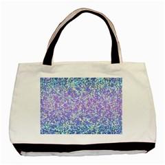 Glitter 2 Basic Tote Bag  by MedusArt