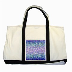 Glitter 2 Two Tone Tote Bag  by MedusArt