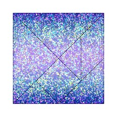 Glitter 2 Acrylic Tangram Puzzle (6  X 6 ) by MedusArt
