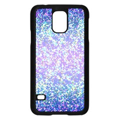 Glitter 2 Samsung Galaxy S5 Case (black) by MedusArt