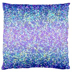 Glitter 2 Large Flano Cushion Cases (two Sides)  by MedusArt