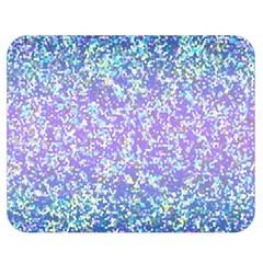 Glitter 2 Double Sided Flano Blanket (medium)  by MedusArt
