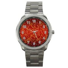 Glitter 3 Sport Metal Watches by MedusArt