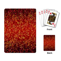 Glitter 3 Playing Card by MedusArt