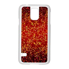 Glitter 3 Samsung Galaxy S5 Case (white) by MedusArt