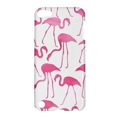 Pink Flamingos Pattern Apple iPod Touch 5 Hardshell Case by Patterns