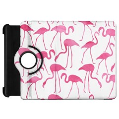 Pink Flamingos Pattern Kindle Fire Hd Flip 360 Case by Patterns