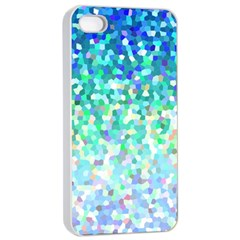 Mosaic Sparkley 1 Apple Iphone 4/4s Seamless Case (white) by MedusArt