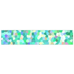 Mosaic Sparkley 1 Flano Scarf (small)  by MedusArt