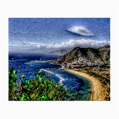 Tenerife 12 Effect Small Glasses Cloth by MoreColorsinLife
